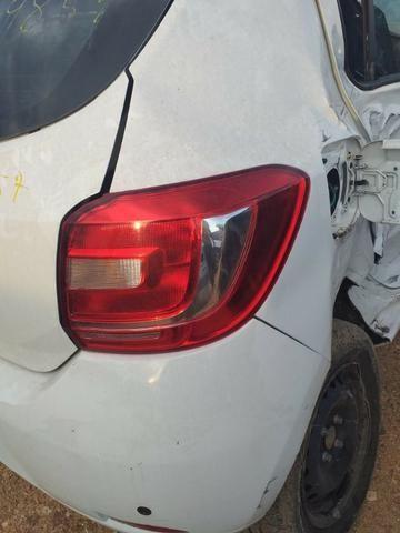 Sucata Renault Sandero Dynamique 1.0 16v 2015 - Foto 3