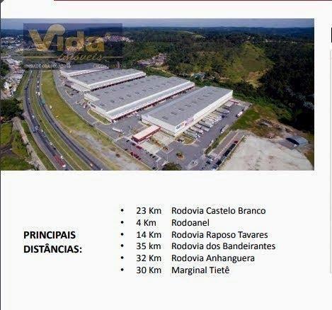 Galpão/depósito/armazém para alugar em Água espraiada, Embu das artes cod:41259 - Foto 3