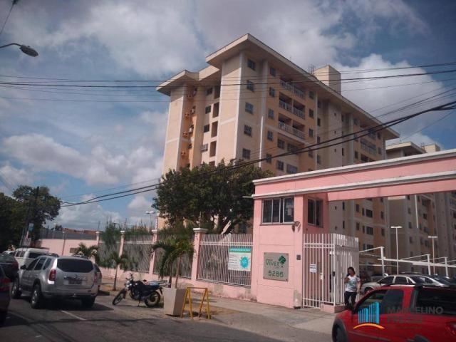 Apartamento com 2 dormitórios para alugar, 52 m² por r$ 1.109/mês - álvaro weyne - fortale
