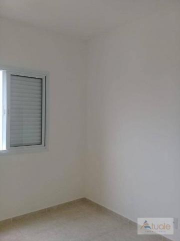 Apartamento com 2 dormitórios à venda, 59 m² - jardim santa rita i - nova odessa/sp - Foto 12