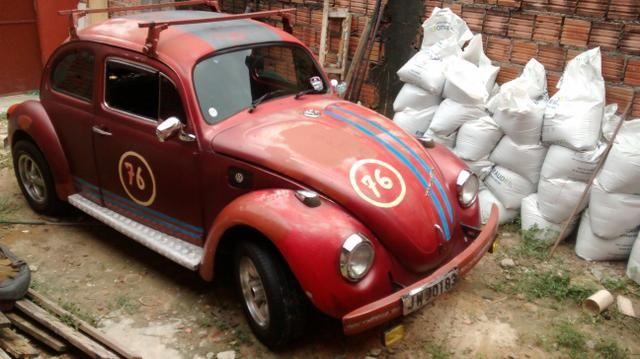 Fusca volkswagen-vermelho - Foto 5