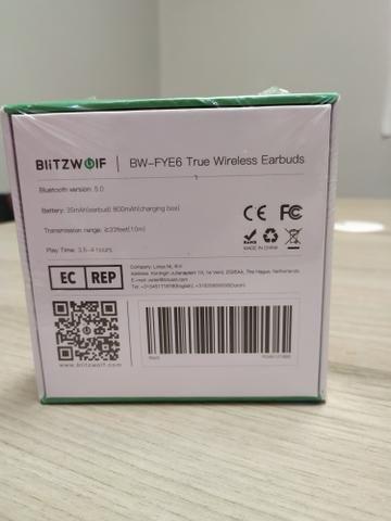 Blitzwolf BW FYE6 - Fone sem fio Bluetooth 5.0 - Completíssimo! - Foto 5