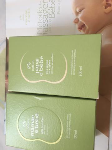 Colônia + óleo de massagem + livro Natura - Foto 2