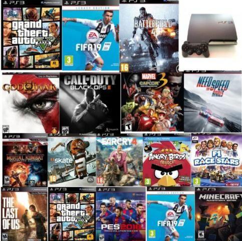 15 jogos digitas originais para qualquer PlayStation 3