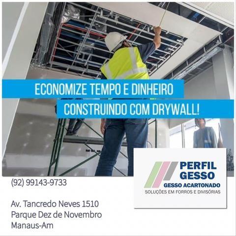 Drywall qualidade e preço aqui