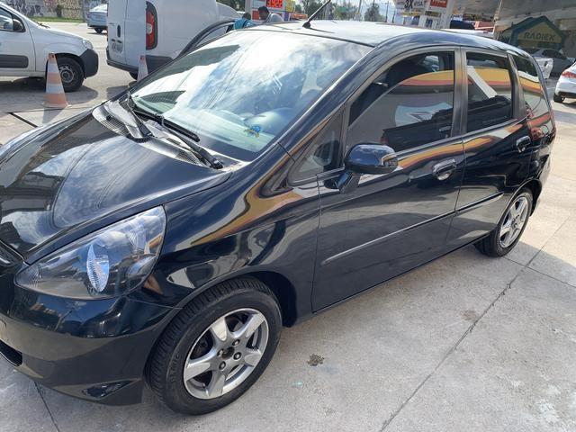 Honda Fit 2008 - Automático- 1.4 LXL - Preto - Foto 2