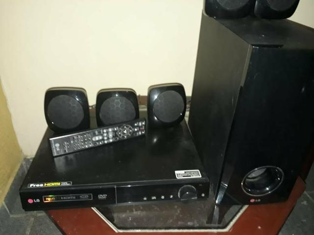 Home theater LG 5 caixas - Foto 4
