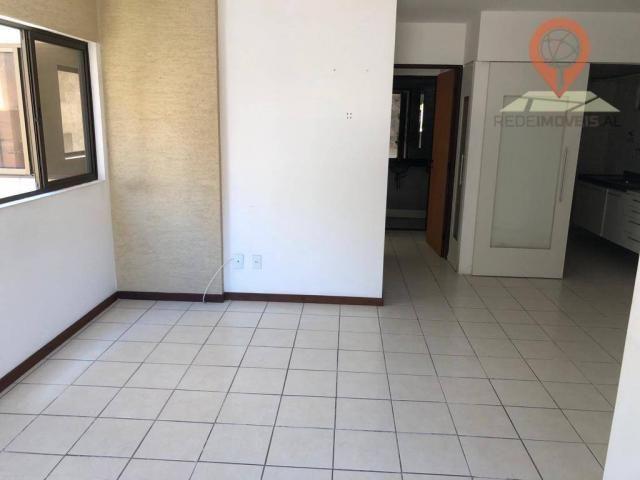 Apartamento com 1 dormitório à venda, 54 m² por R$ 220.000,00 - Jatiúca - Maceió/AL - Foto 5