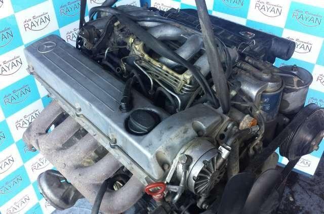 Motor + Cambio + Diferencial + Motor de Partida revisado - Mercedes 5 cilindros