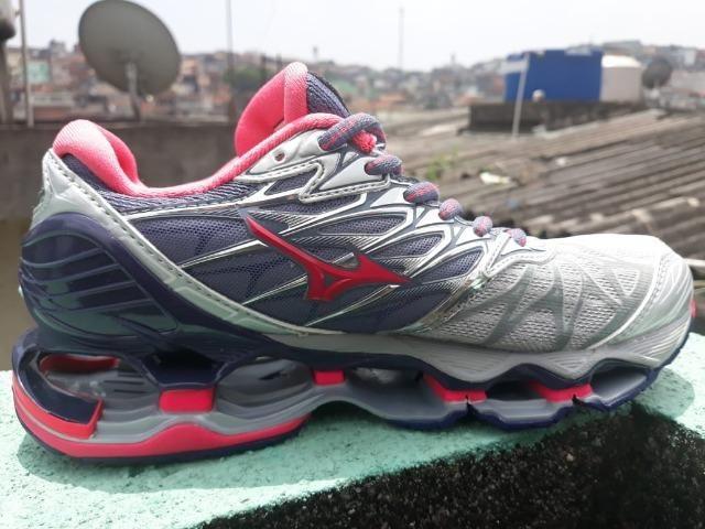 Tênis Mizuno Wave Prophecy 7 Importado Impecável - Roupas e calçados ... 7b5b0ad832e85