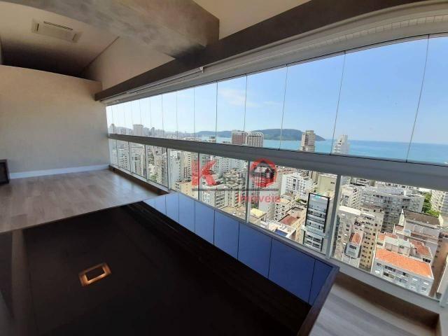 Cobertura com 4 dormitórios à venda, 410 m² por R$ 7.500.000,00 - Gonzaga - Santos/SP - Foto 11