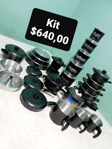 Kits de panelas e utensílios.  - Foto 3