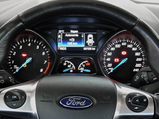 Ford Focus Sedan Titanium 2.0 2015 Impecável - Foto 18