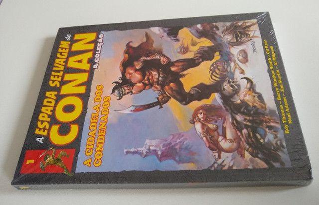 A Espada Selvagem de Conan Vol. 1 - Hq Nova e Lacrada! - Foto 4