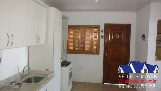 Velleda oferece casa 500 metros do mar em pinhal, central - Foto 9