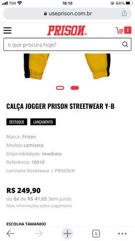 Calça prison original - Foto 3