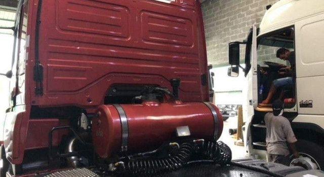 Kit Hidráulico Original Hyva P/ Caçamba Personalizado na Cor do Cavalo Mecânico - #4105