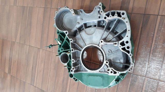 Capa seca do motor volvo fh d13 - Foto 2
