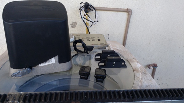 Kit Completo Motor Portão PPA 127V- Semi-Novo - Foto 3