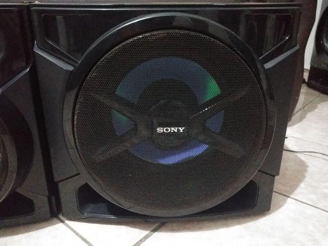 Conjunto de Caixas+ Subwoofer 3000 Watts Sony GTR555 - Foto 5