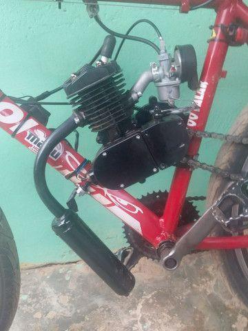 Bike motorizada 80cc Semi nova - Foto 5