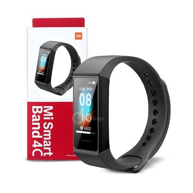 Xiaomi Mi Smart Band 4C - Novo, lacrado e a pronta entrega