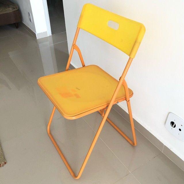 Cadeira Tok&Stok Laranja - Foto 3