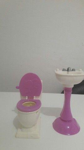 Banheiro da barbie