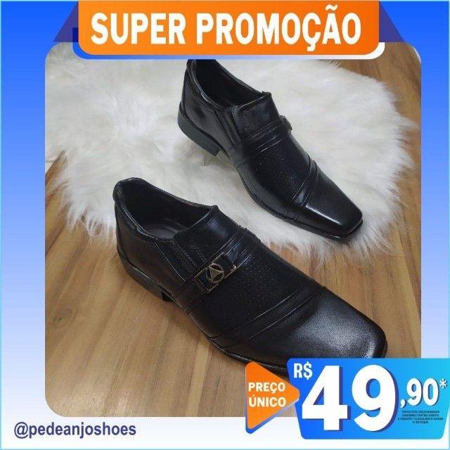 Sapato Social Masculino (Novo) - Foto 4