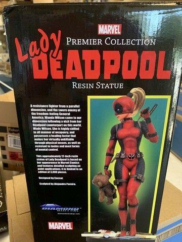 Estatua De Resina Marvel Diamond Select Lady Deadpool X-men ñ sideshow iron studios - Foto 4