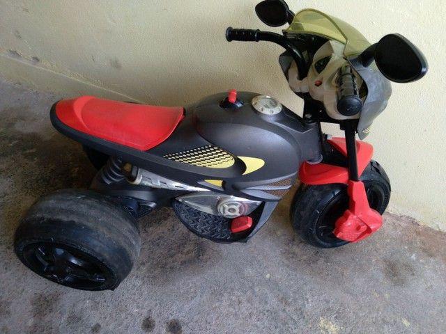 Moto elétrica bandeirante com bateria de moto. - Foto 5
