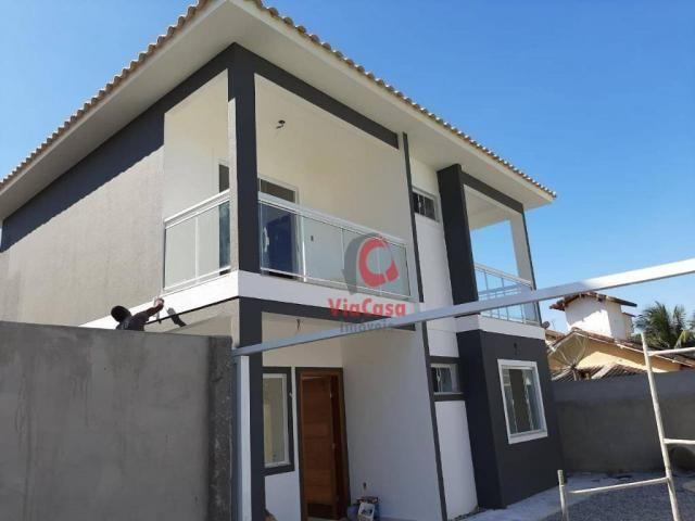 Casa à venda, 122 m² por R$ 380.000,00 - Costazul - Rio das Ostras/RJ - Foto 2