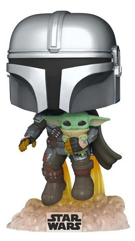 Funko Pop Star Wars The Mandalorian with the Child 402 - Foto 3