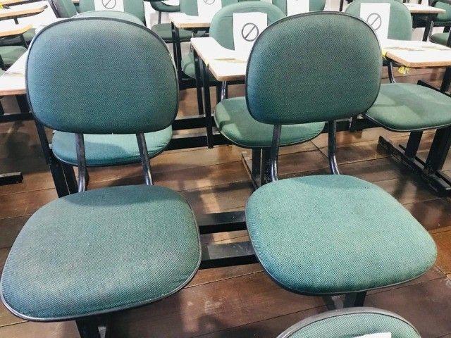 logarina de 3 ou 2 lugares - cadeiras - longarina de escritório - Foto 3