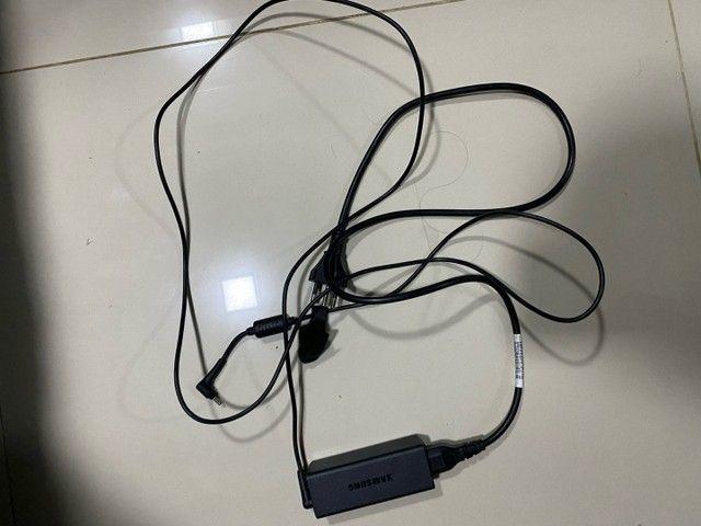 Carregador notebook Samsung    - Foto 2