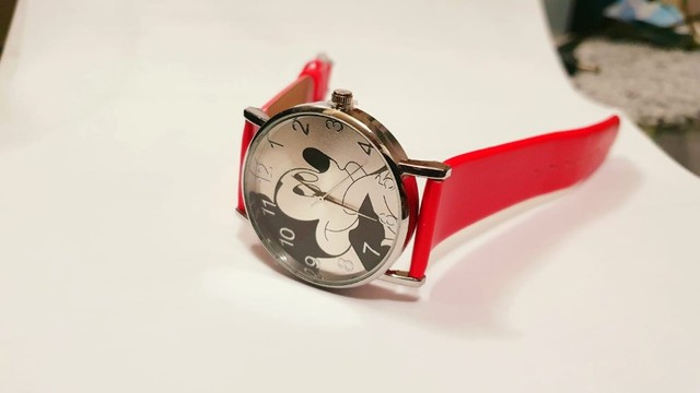 Relógio Mickey Vermelho - Foto 2
