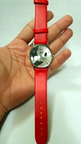 Relógio Mickey Vermelho - Foto 3