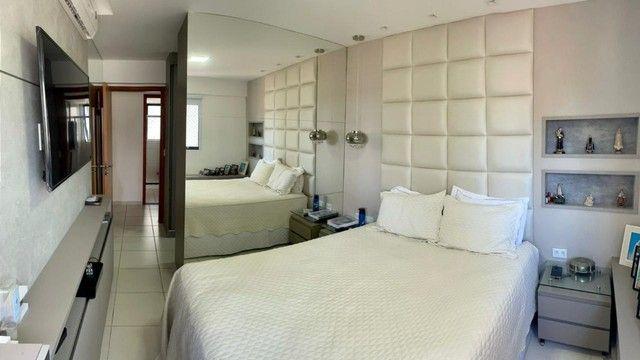 Apartamento na Jatiuca, 110m², 3/4-2 suites, varanda integrada - Foto 5