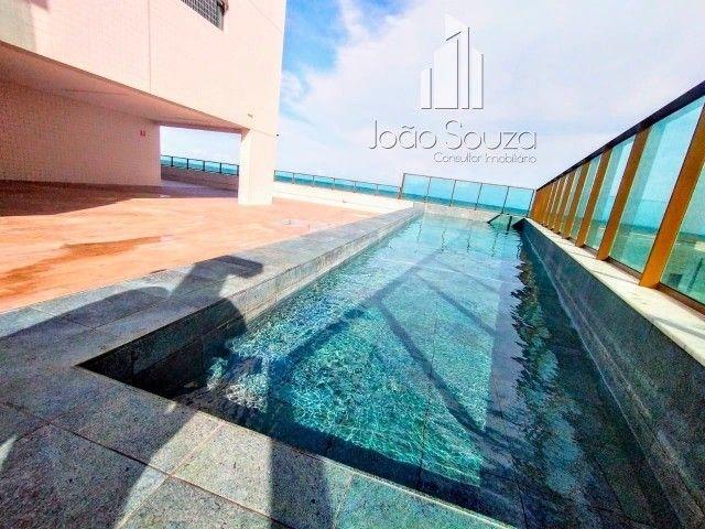BR- Lindo apartamento na beira mar de Casa Caiada com 95m² - Estação Marcos Freire - Foto 3