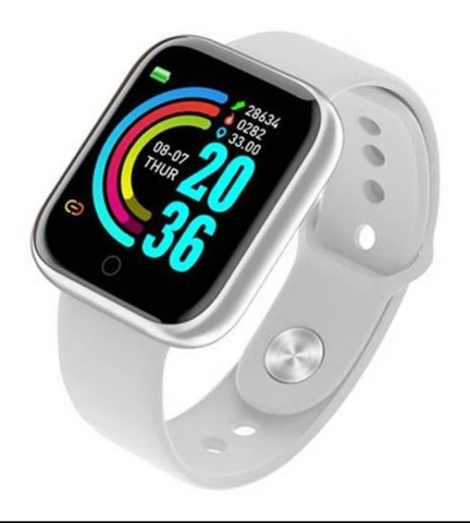 Relógio Inteligente Smartwatch D20 - Branco - Foto 2