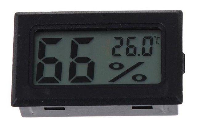 Medidor de temperatura e umidade para chocadeira termo higrômetro - Foto 2