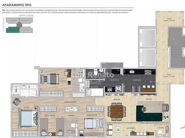 Apartamento à venda 4 quartos 2 suítes 4 vagas - Santa Efigênia - Foto 5
