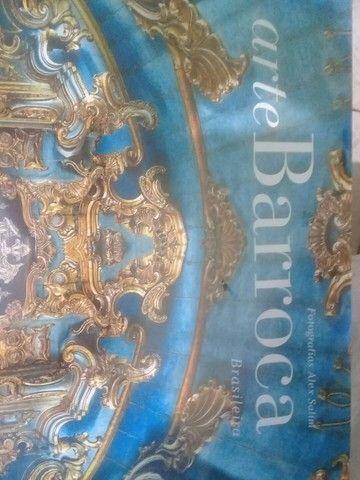 "Livro raro ""Arte Barroca Brasileira""(lacrado)novo - Foto 2"