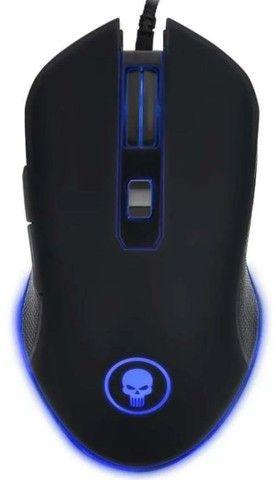 Kit Gamer Teclado E Mouse 6 Botões Com Led E Mouse Pad - Foto 2
