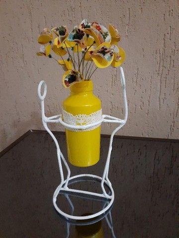 Artesanato - Porta vaso - Foto 5