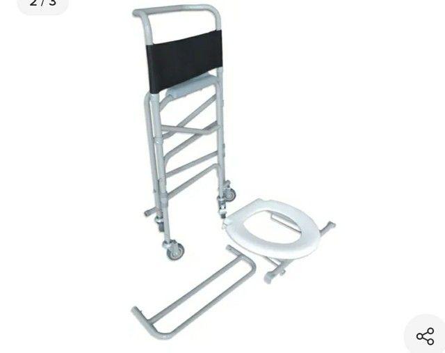 Cadeira de roda de banho Novas - Foto 2