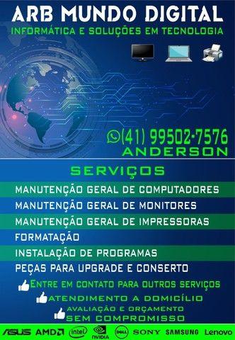 Serviços de informática e tecnologias