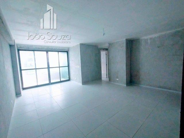 BR- Lindo apartamento na beira mar de Casa Caiada com 95m² - Estação Marcos Freire - Foto 4