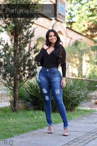 Calça jeans feminina  - Foto 6