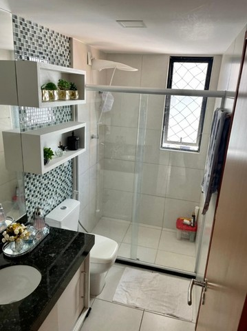 Apartamento na Jatiuca, 110m², 3/4-2 suites, varanda integrada - Foto 11